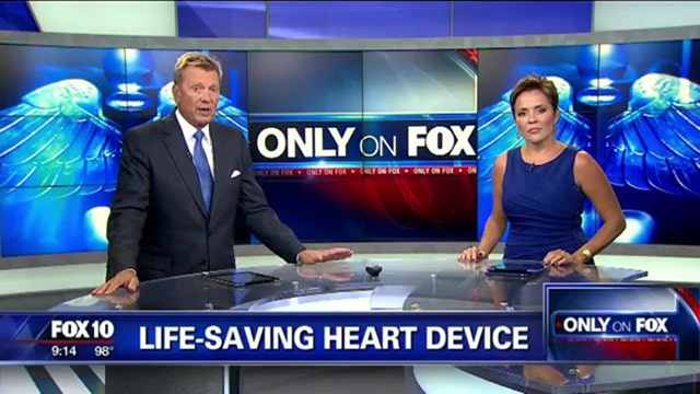 Fox 10 News interviews Dr. Amabile about the LVAD mechanical pump